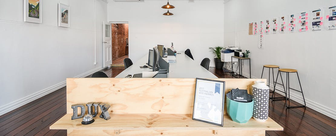 Dedicated desk at Dux Digital (Mt Hawthorn), image 1