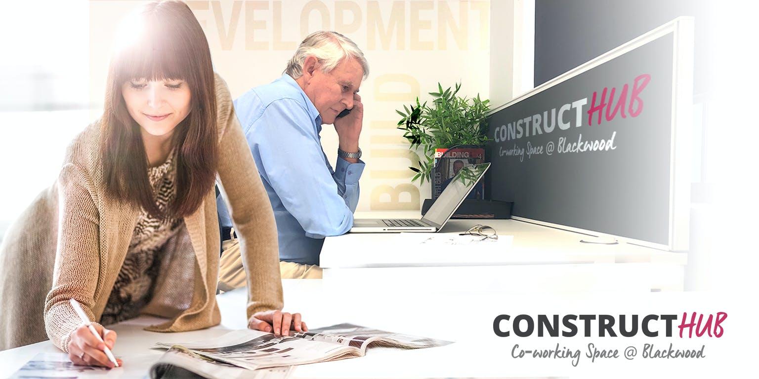 Dedicated desk at Construct Hub, image 1