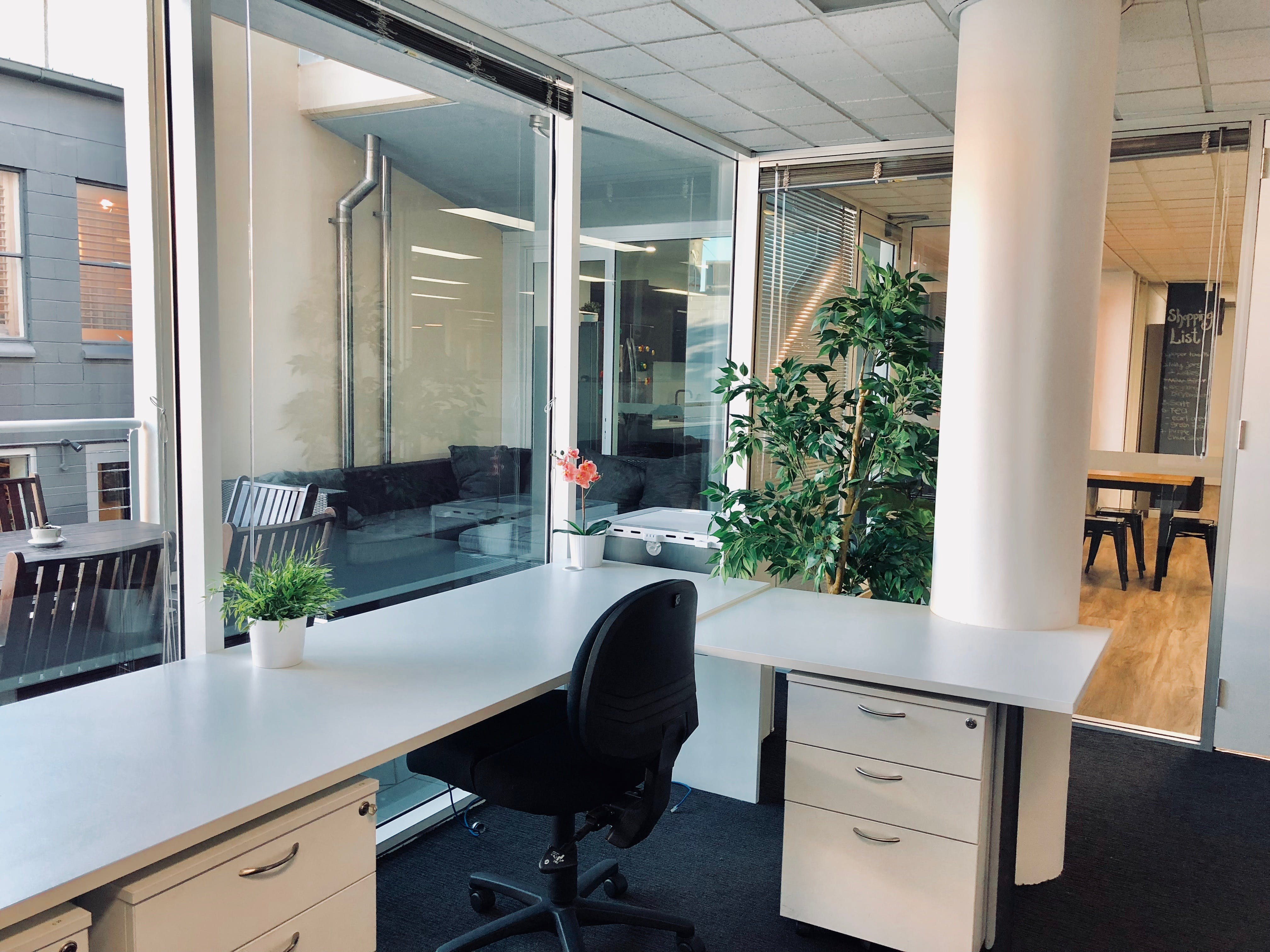 Co-Working area -individual desk or private office, shared office at The Link Collective, image 1