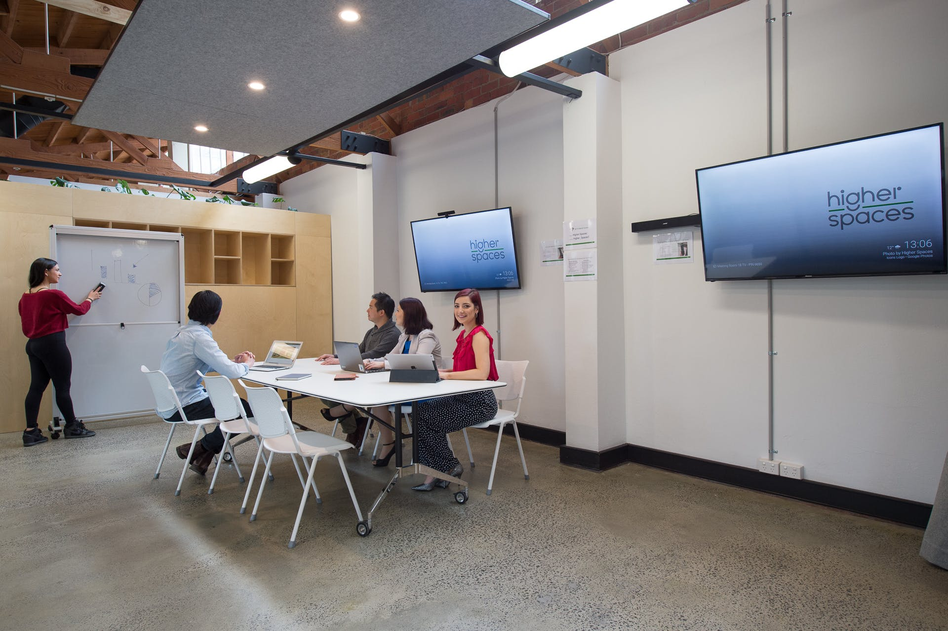 Meeting room 1, meeting room at Higher Spaces, image 1