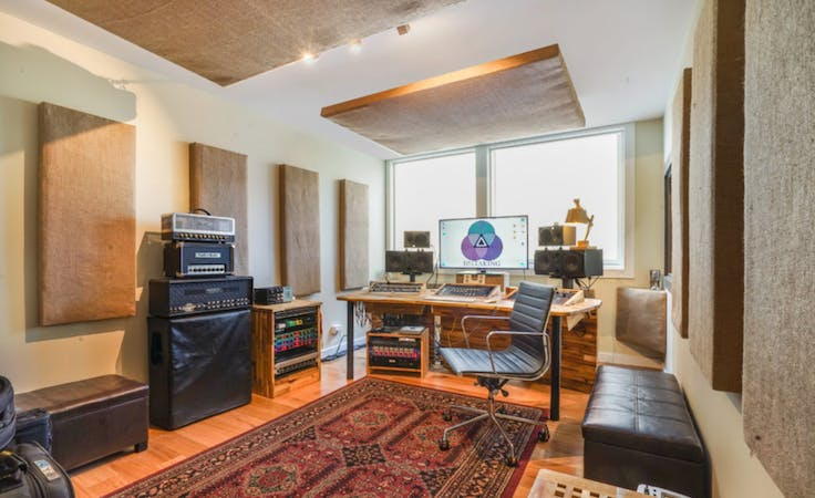Sound Treated Control Rooms, creative studio at Bright Side Studios Sydney, image 1