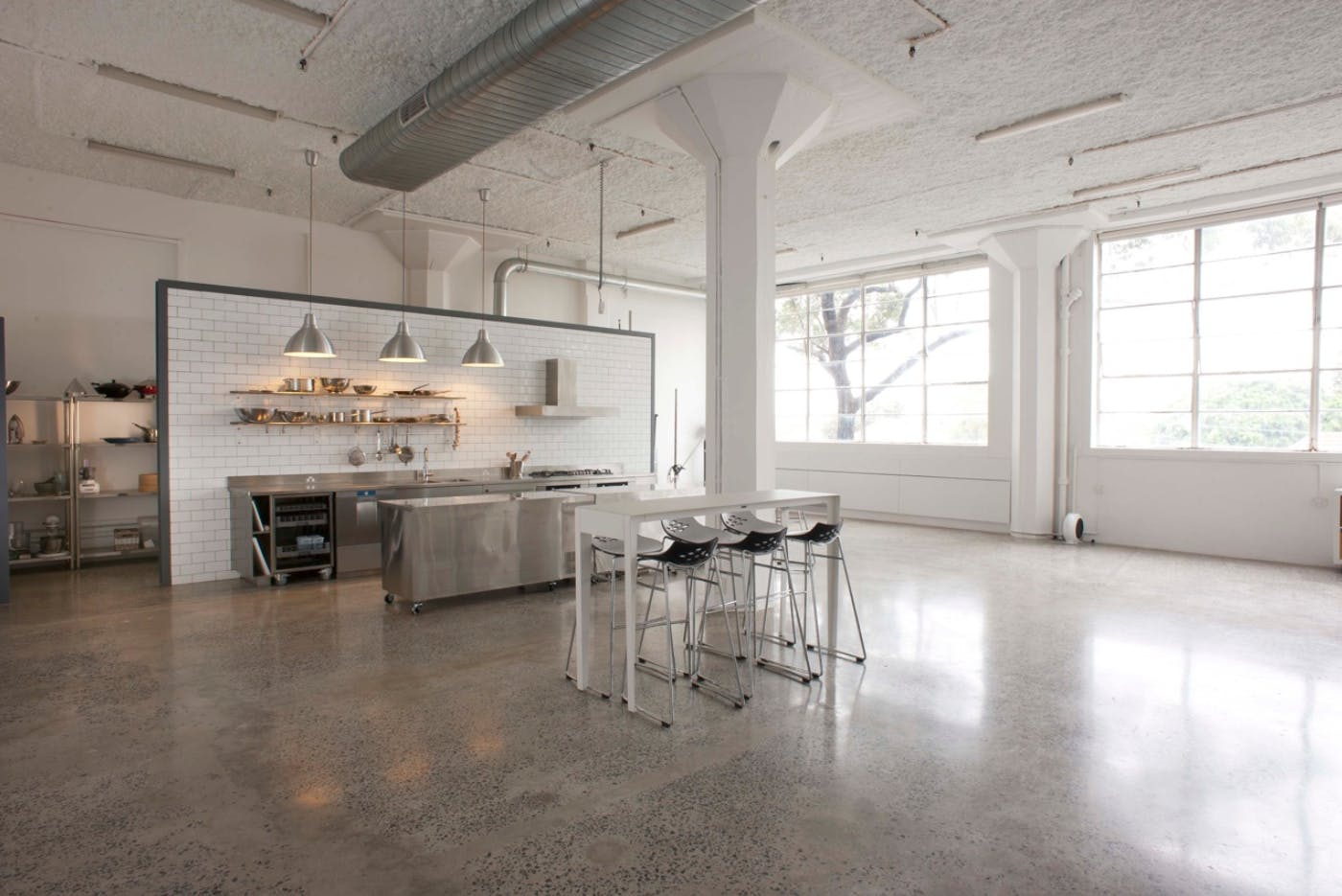 Stunning high-end commercial kitchen space, perfect for photoshoots & workshops, image 1