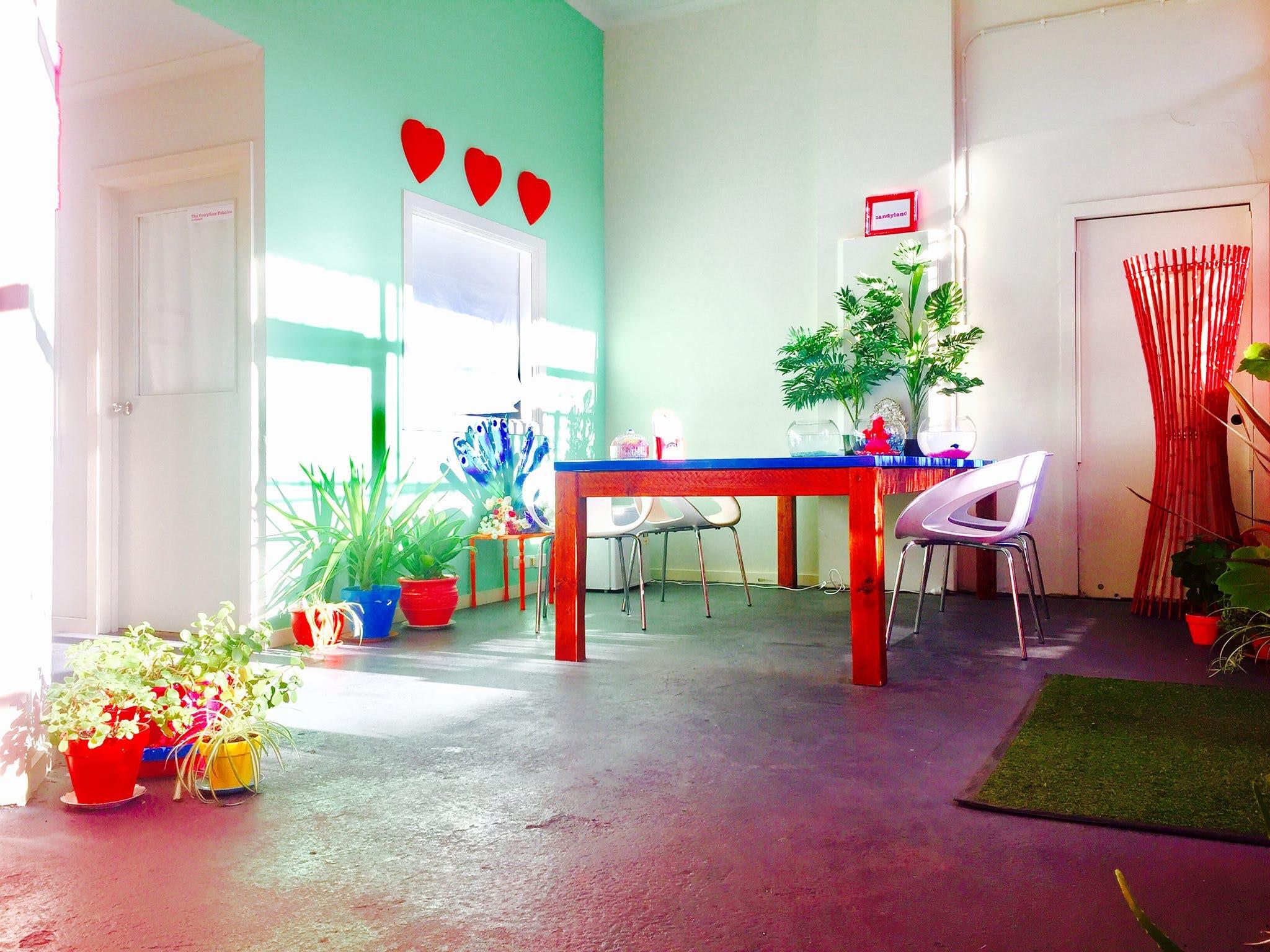 Sherbert Showroom, multi-use area at Candyland, image 1