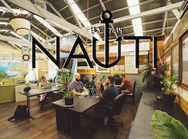 $89/week CoWorking in Sustainably Made Collaborative Warehouse Work Space near Newtown, coworking at Nauti Studios Stanmore, image 1