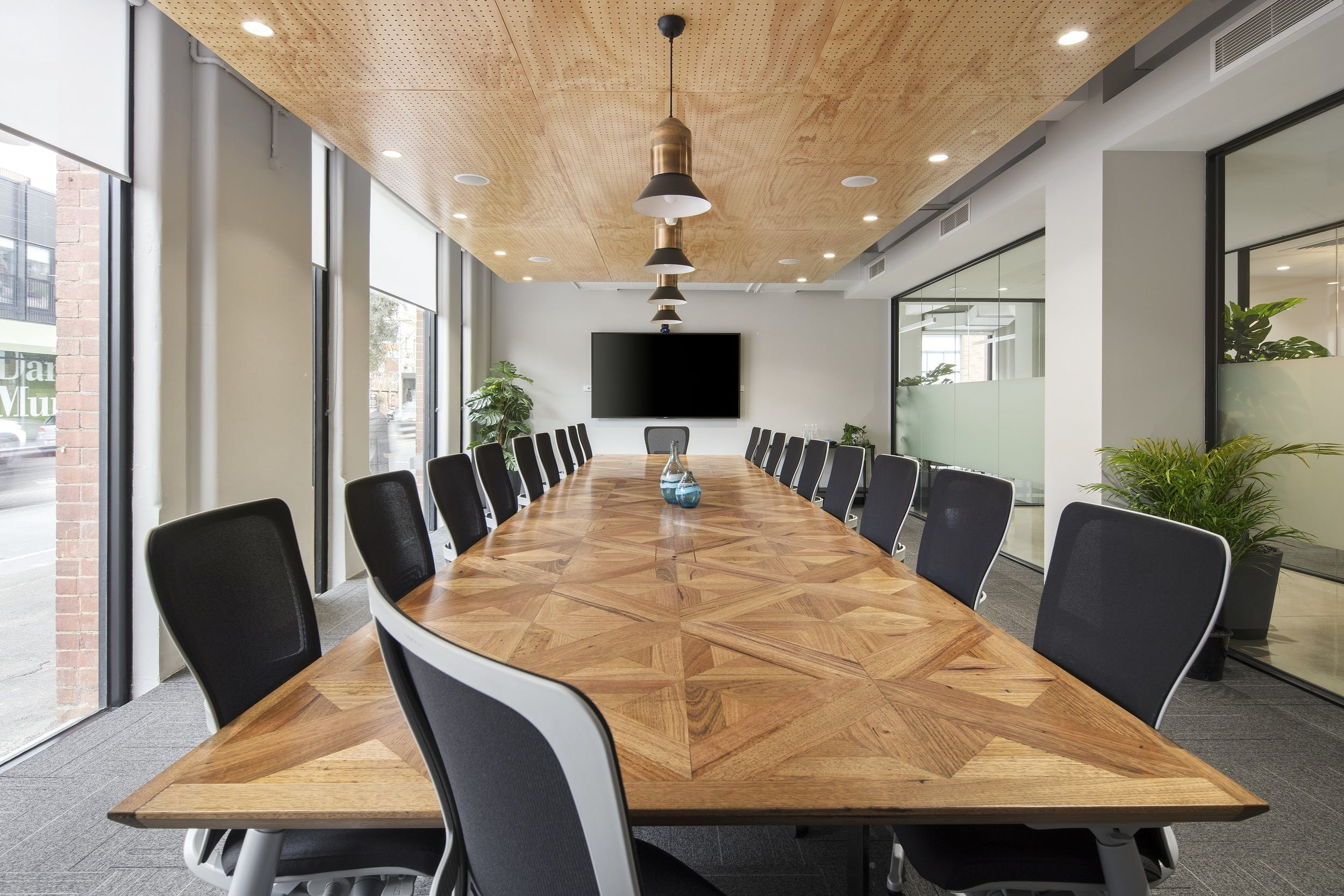 22 Person Boardroom , meeting room at United Co., image 1