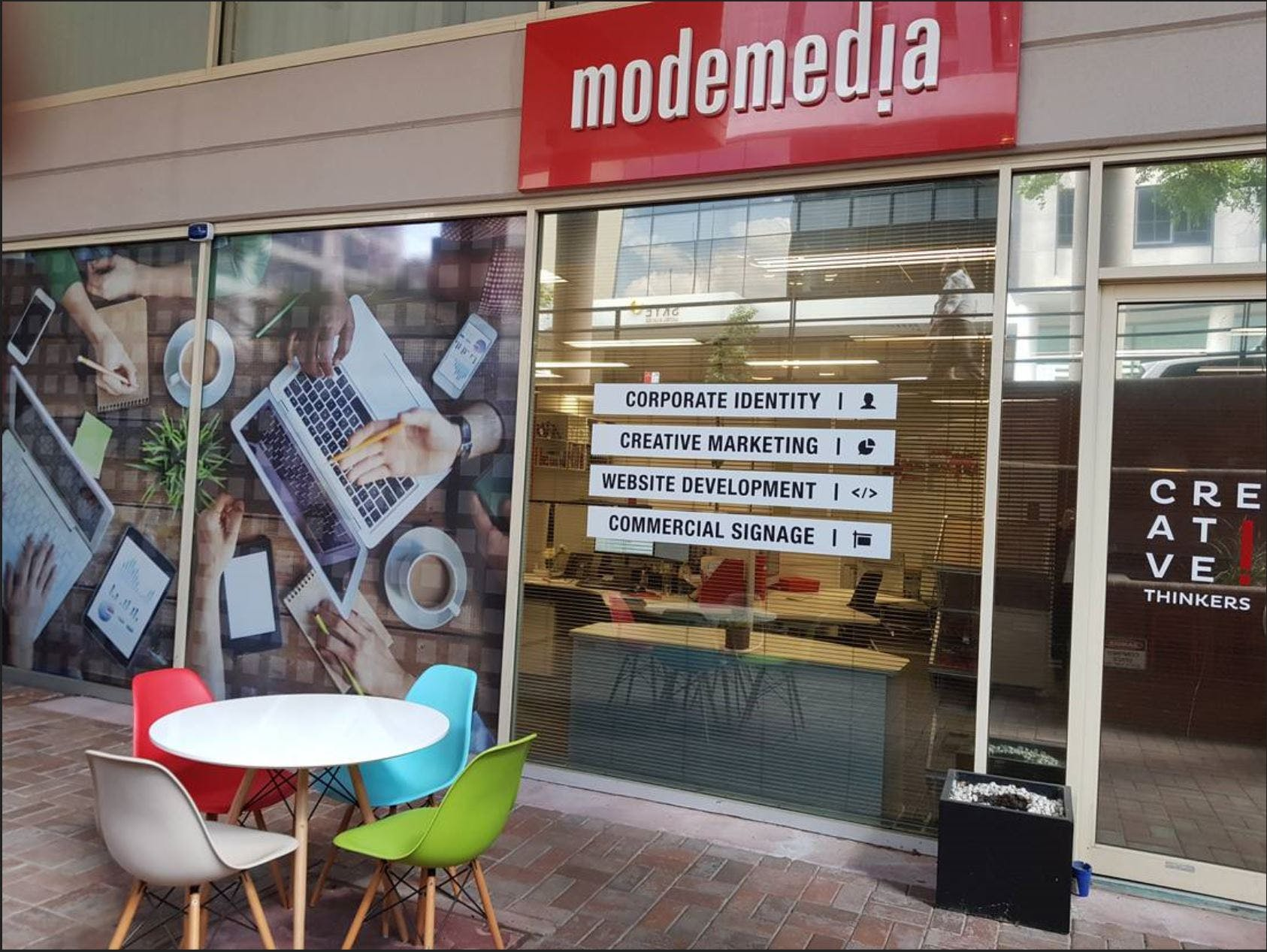 Dedicated desk at Mode Media, image 1