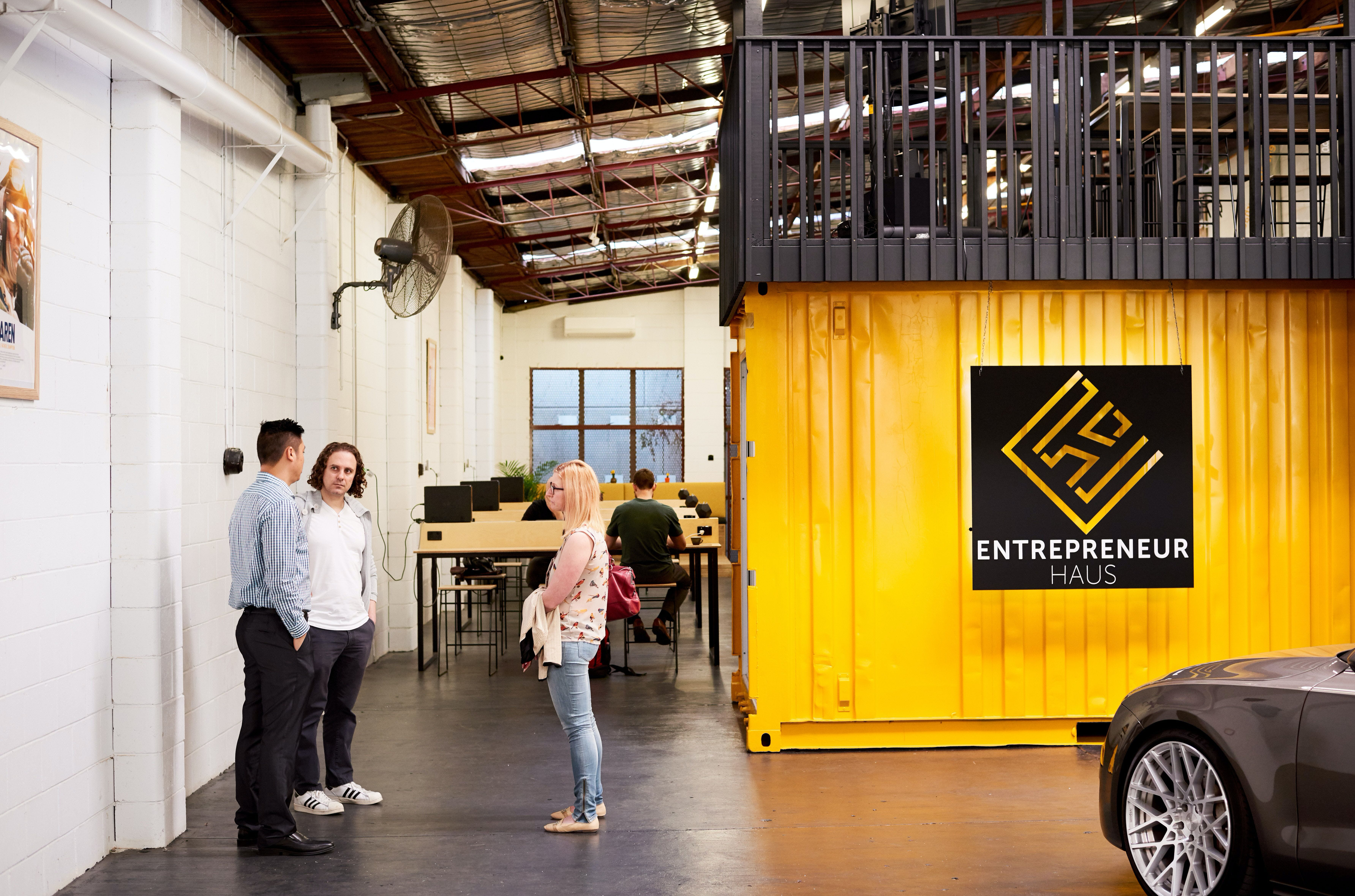 Co-work in a redeveloped warehouse in South Brisbane, image 1