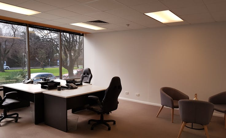 Social Conscience Co-Office Space, dedicated desk at The Parks, image 1