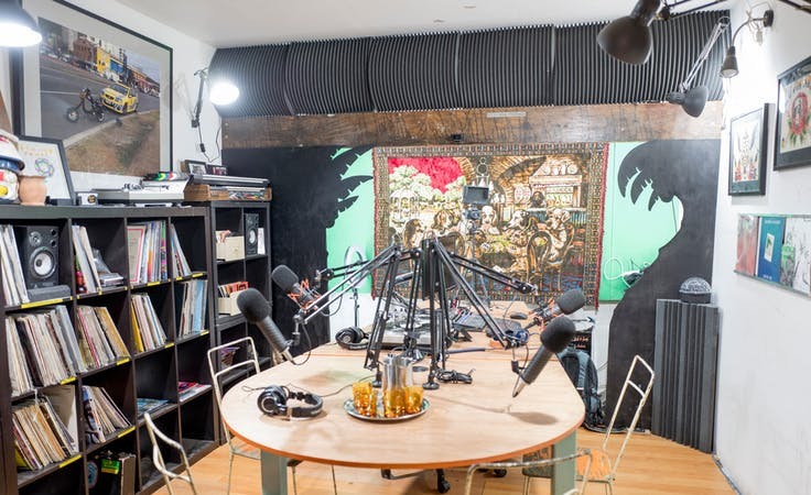 The Vinyl Room, creative studio at Castaway Studios - Podcasting Studio, image 1