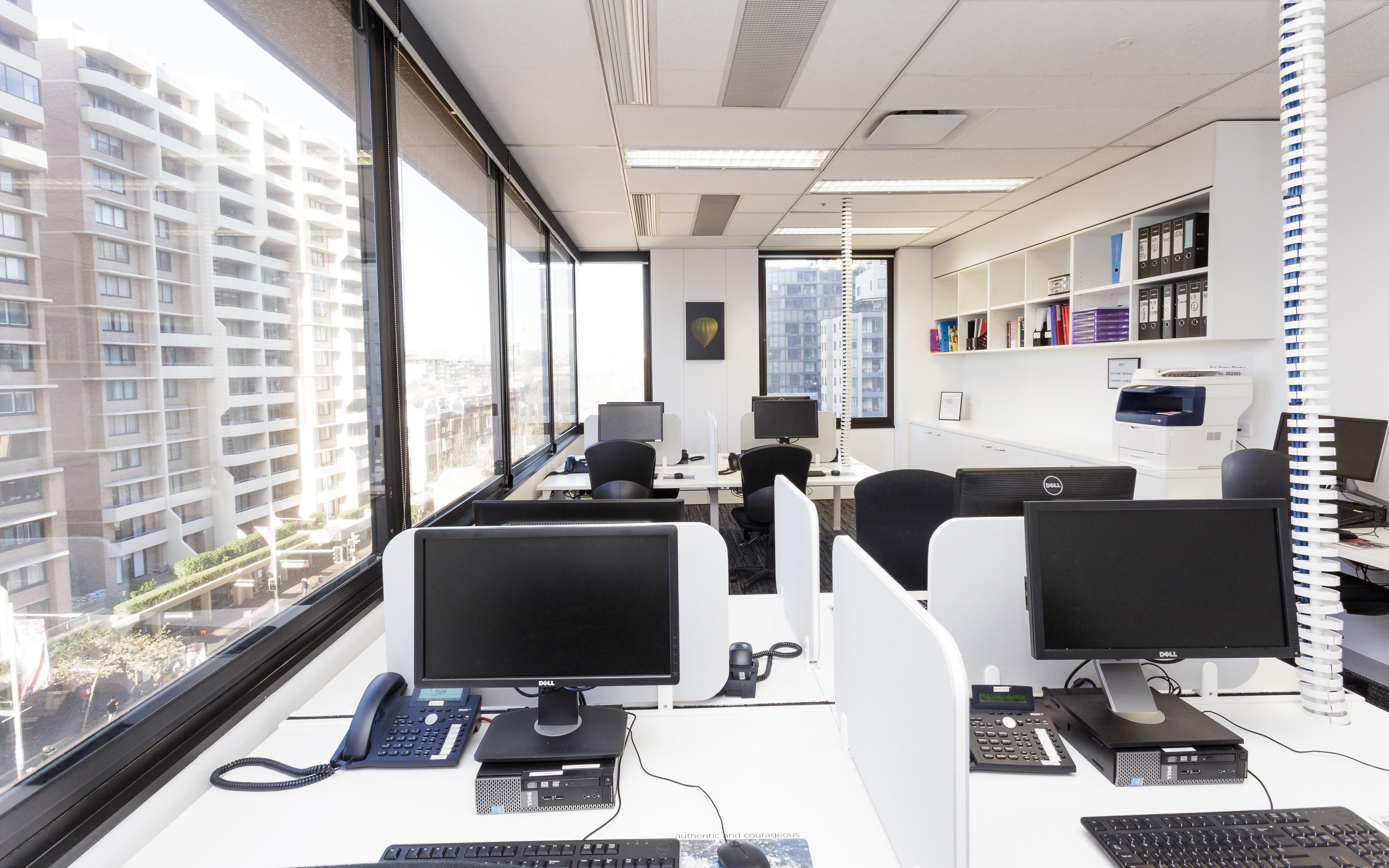 Freeman Room: Computer training room with natural light. Close to Sydney CBD, image 1