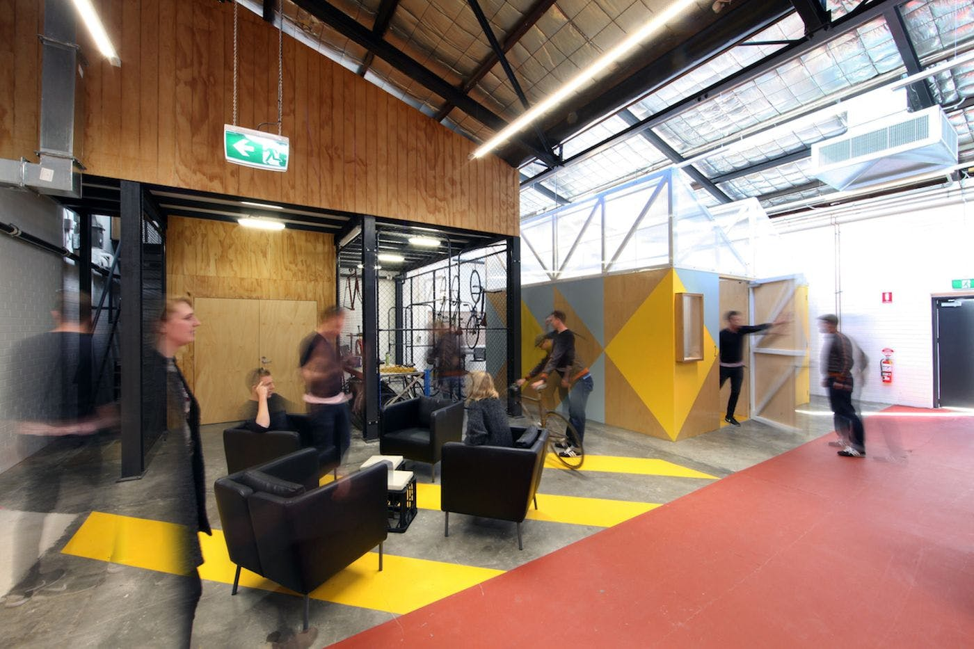 The Gather Space, multi-use area at Claisebrook Design Community, image 3