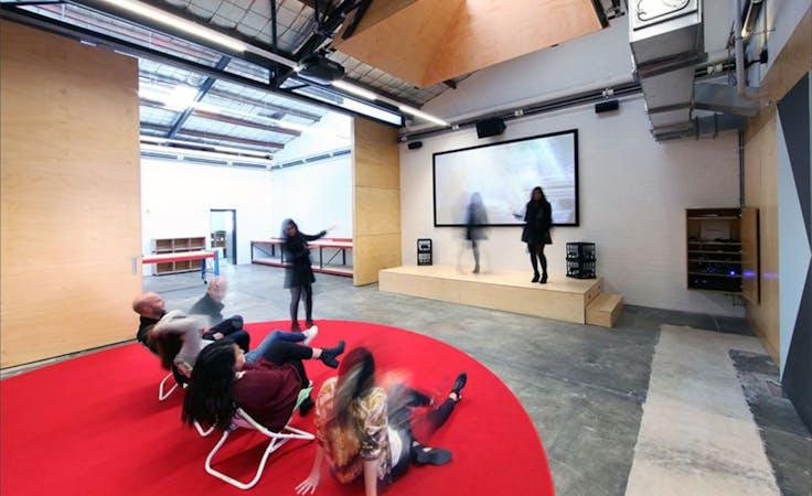 The Gather Space, multi-use area at Claisebrook Design Community, image 1