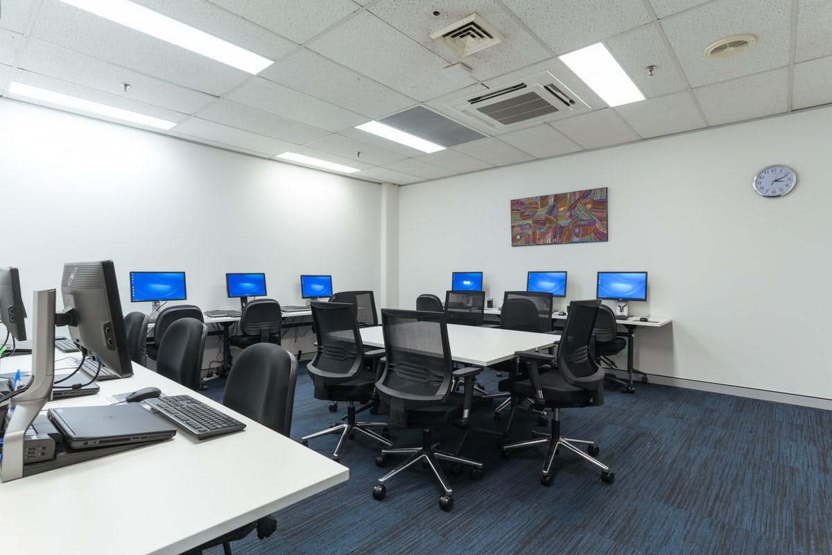 Training room at INS, image 2