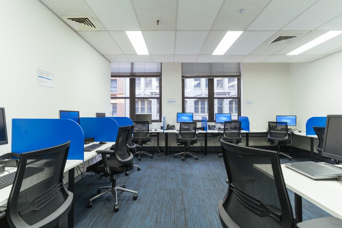 Training room at INS, image 1