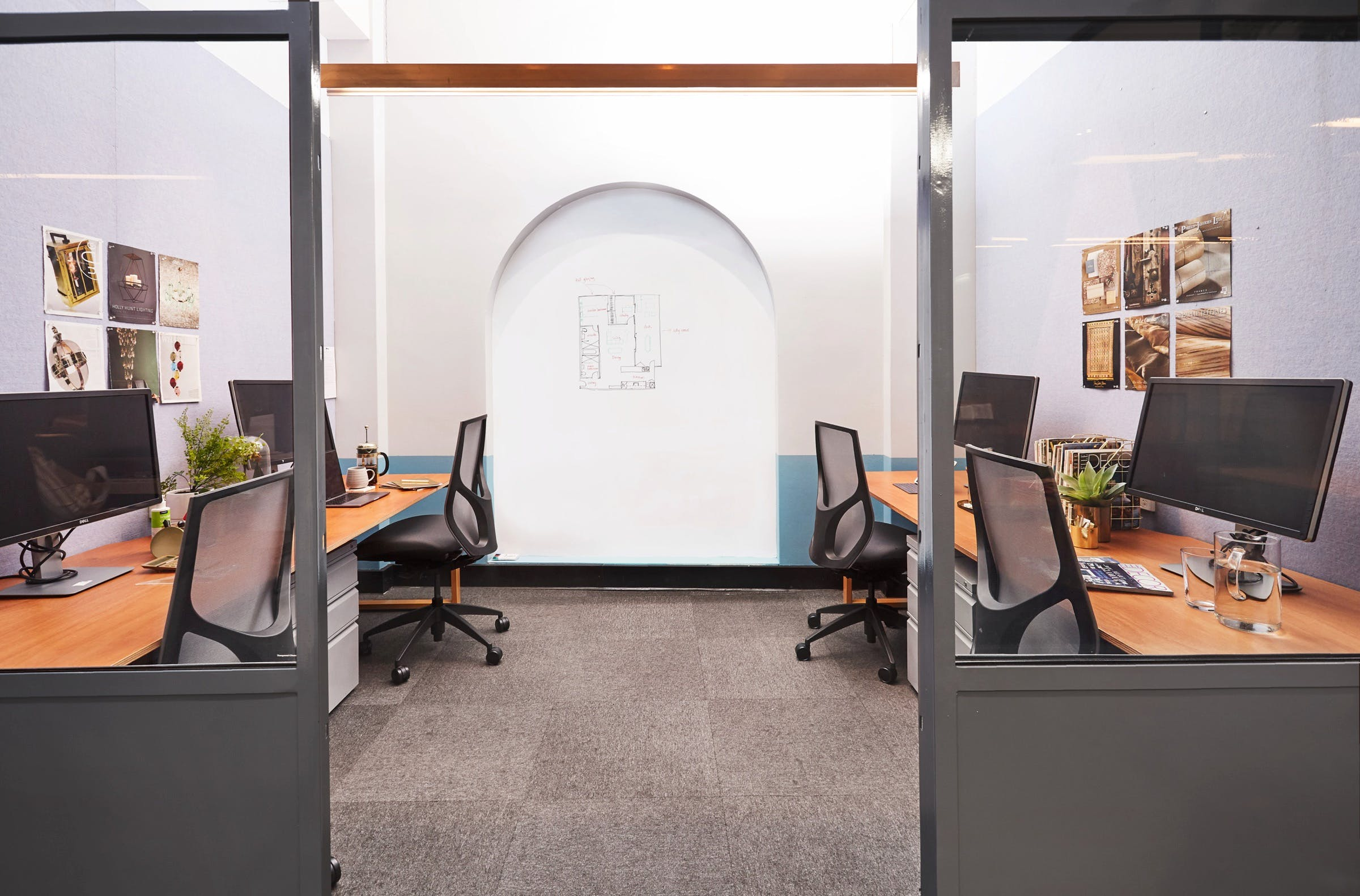 4 Person Private Office Space, private office at Your Desk Town Hall, image 1