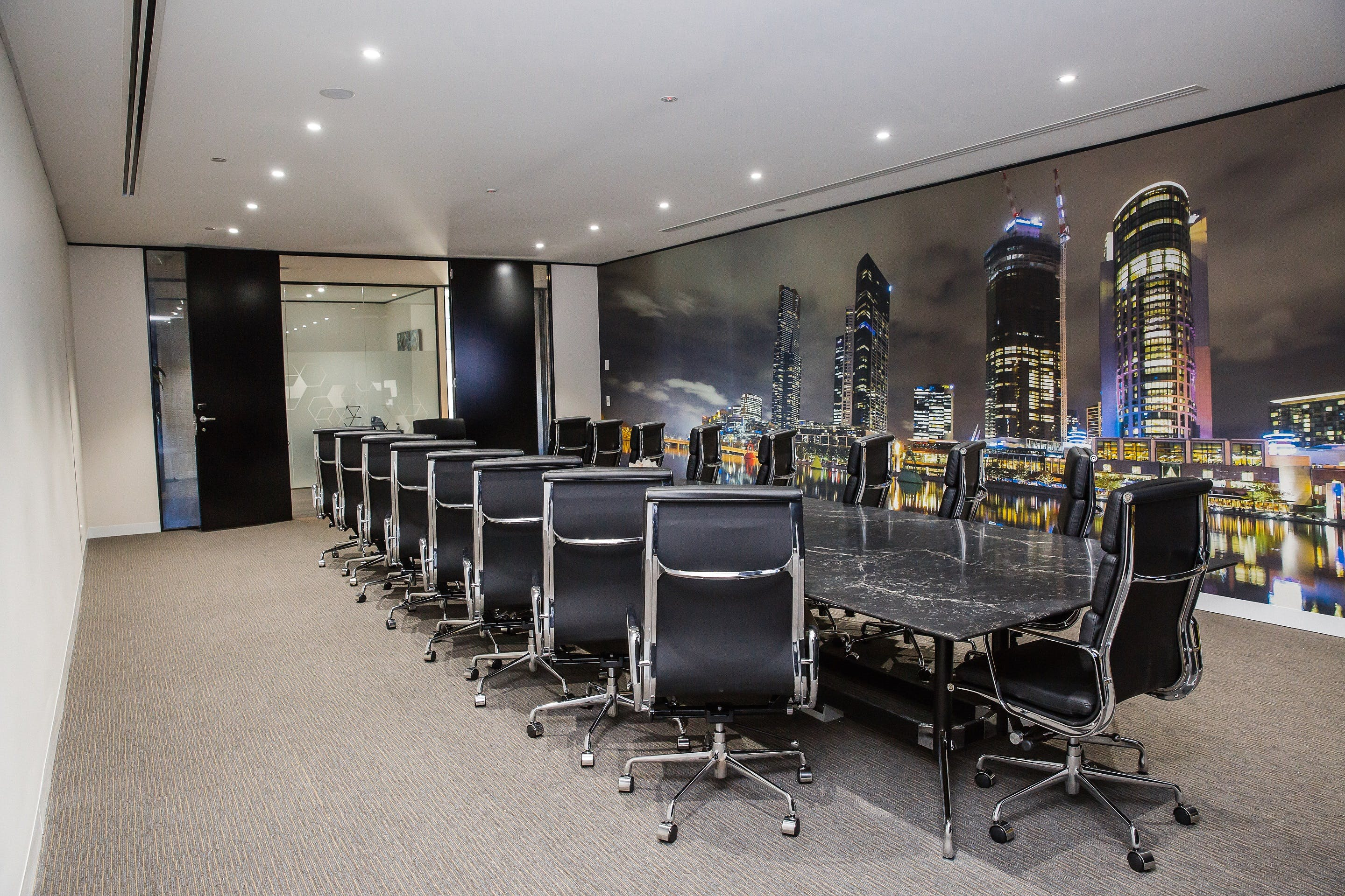 Zeus, meeting room at Victory Offices | Collins Place Meeting Rooms, image 3