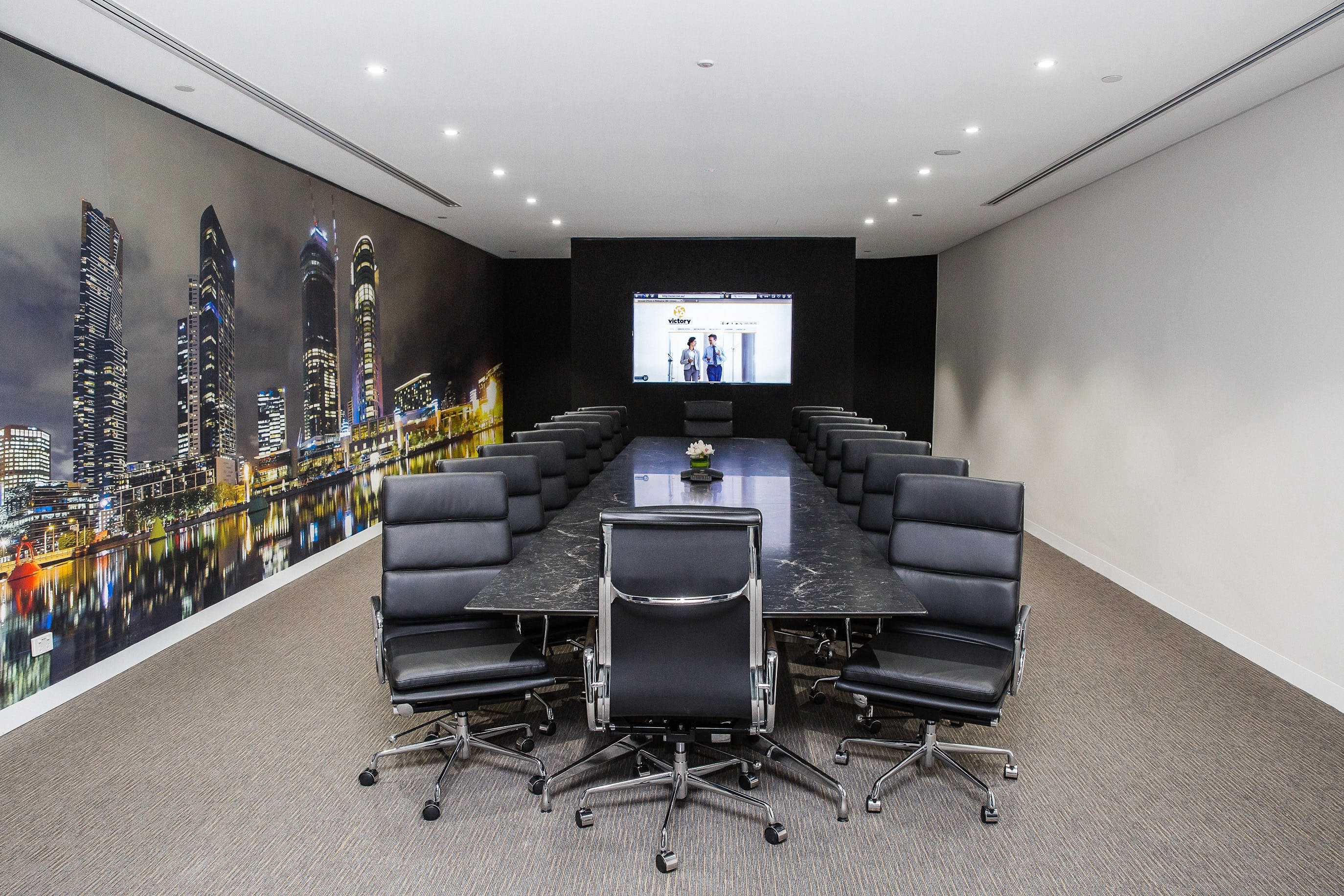 Zeus, meeting room at Victory Offices | Collins Place Meeting Rooms, image 2