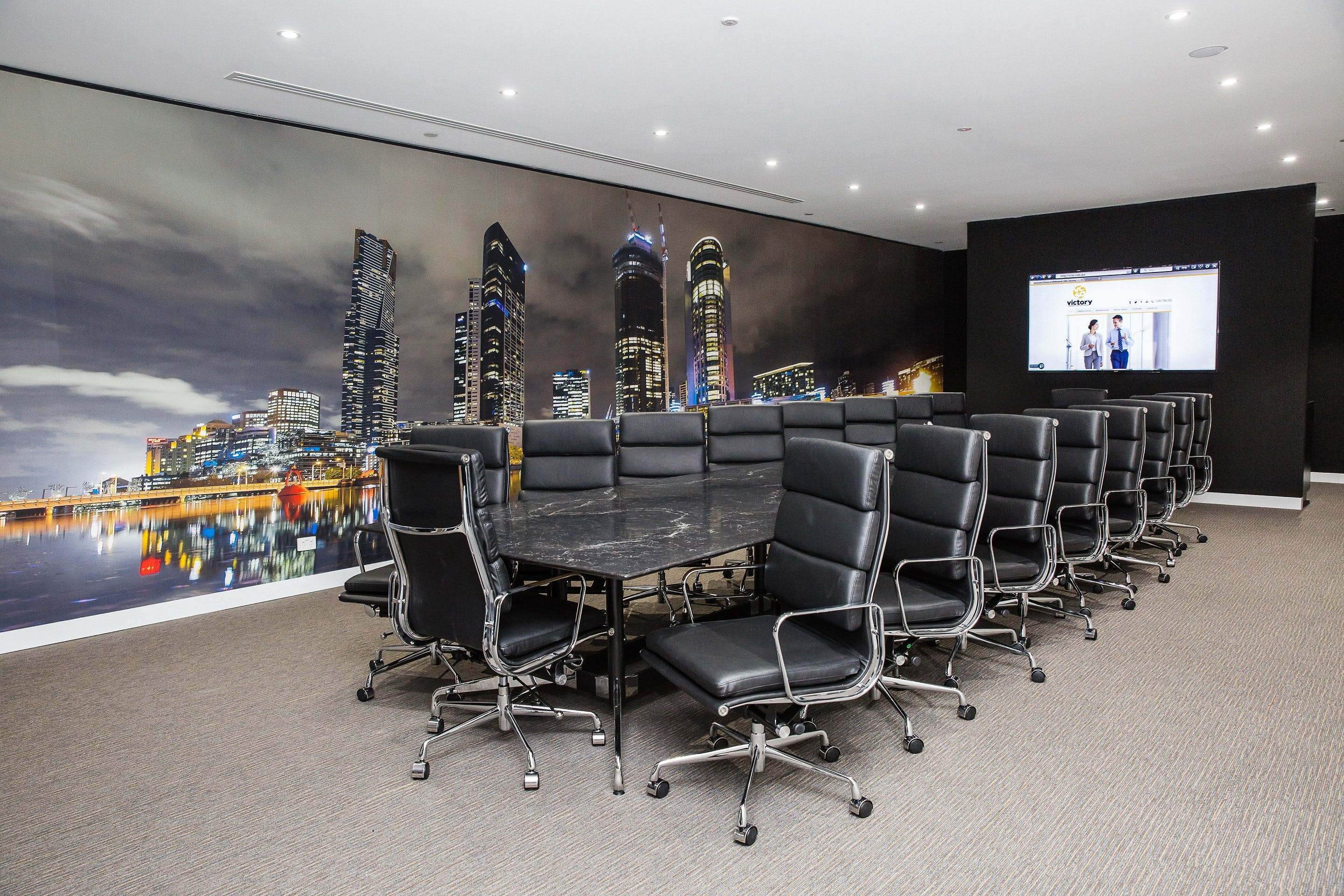 Zeus, meeting room at Victory Offices | Collins Place Meeting Rooms, image 1