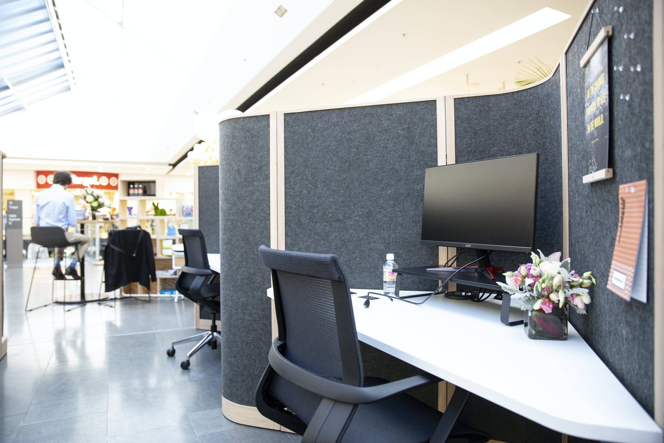 Focus Pod, hot desk at The Third Space, Broadway Sydney, image 1