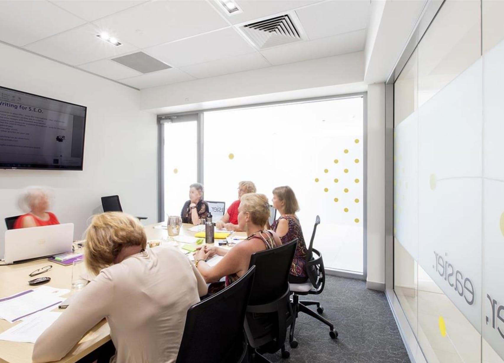 The Yellowbox Boardroom, meeting room at The Hive Coworking & Office Space, image 1