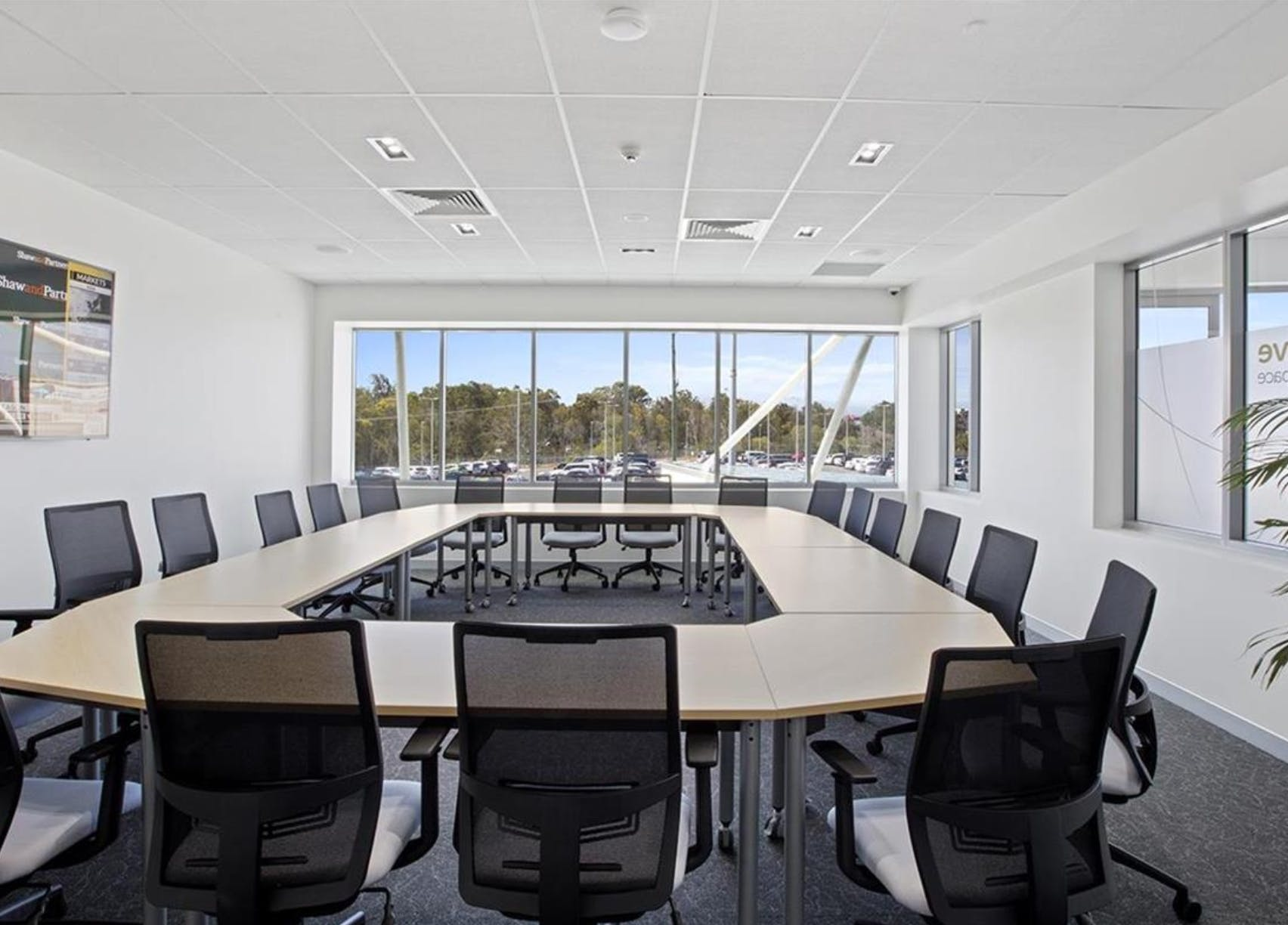 The Manuka Boardroom, meeting room at The Hive Coworking & Office Space, image 1
