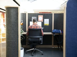 Focus Cubicle, hot desk at The Third Space, Broadway Sydney, image 1