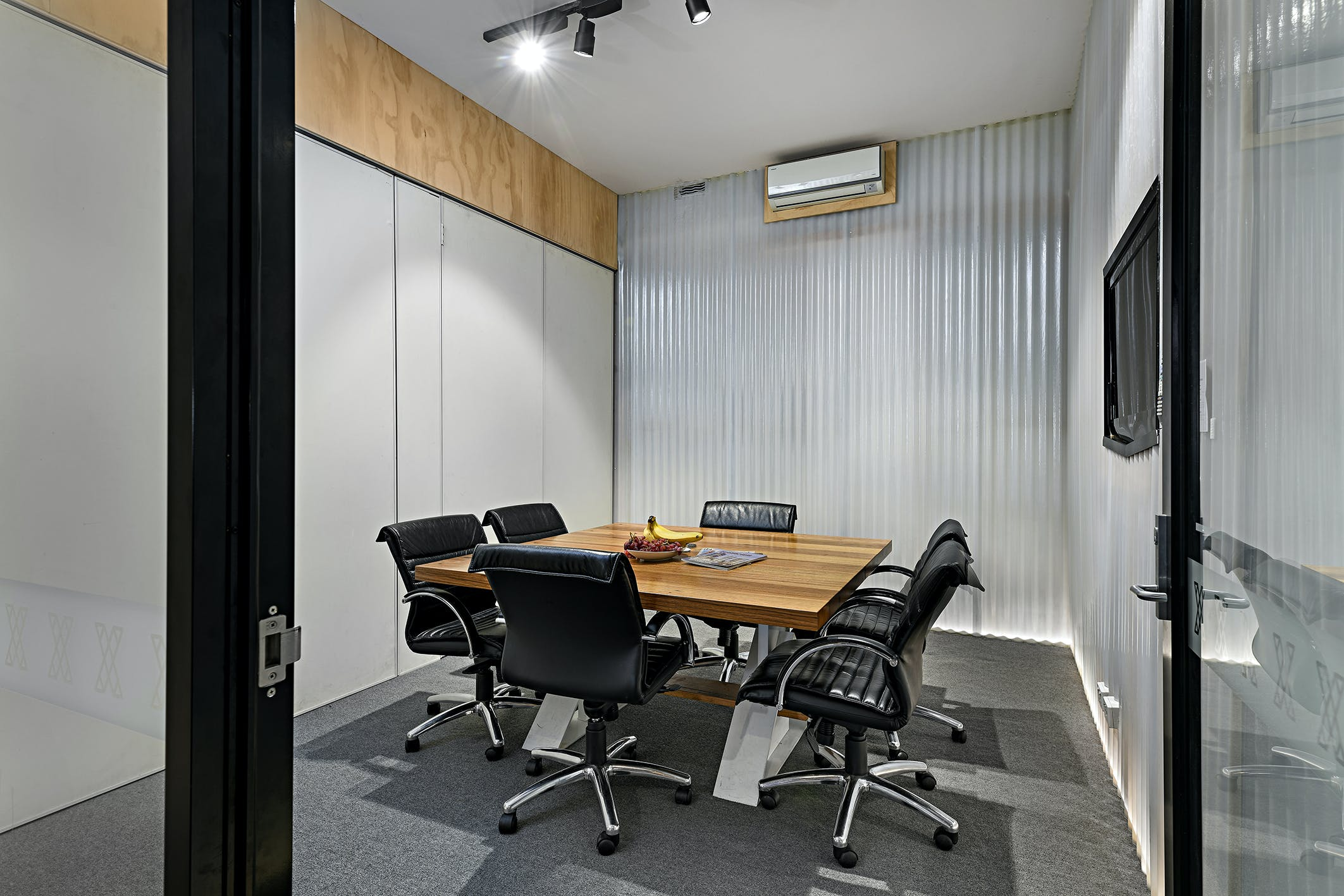 This space has everything you may need to host your next team meeting, image 1