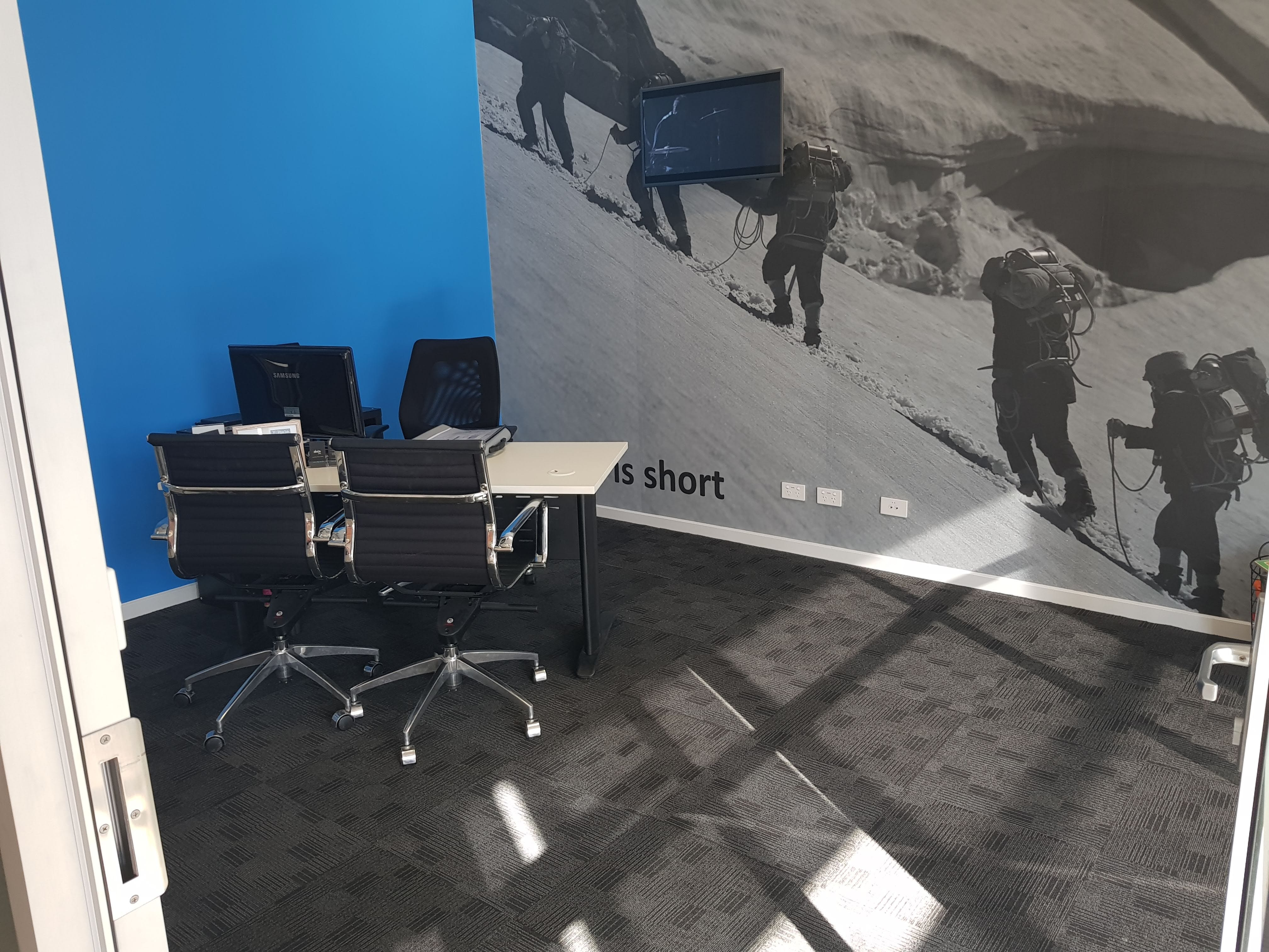 The Hillary Room, private office at The PlayLab Co-Working Shepparton, image 1