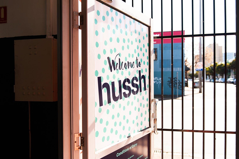 Pop-up shop at Hussh Warehouse, image 3