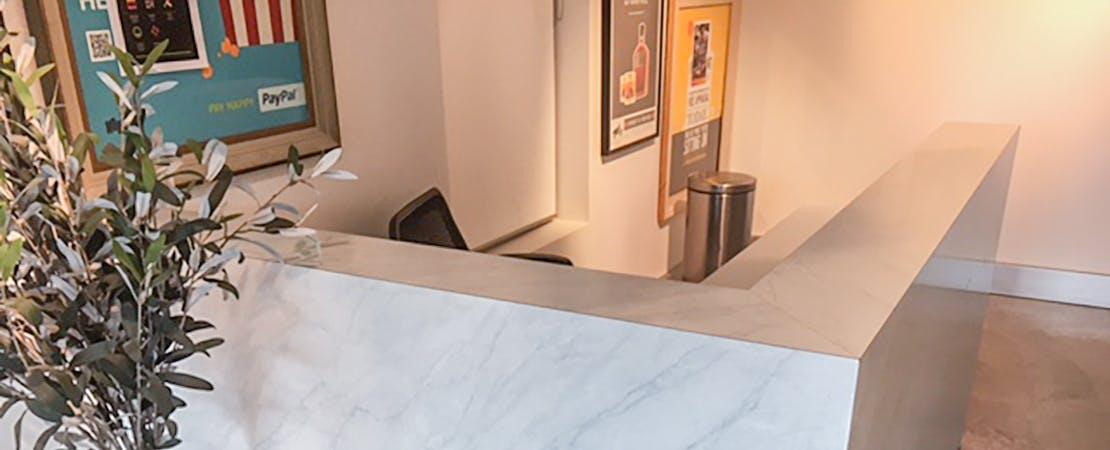 Front Desk, dedicated desk at Dynamix Pty Ltd, image 1