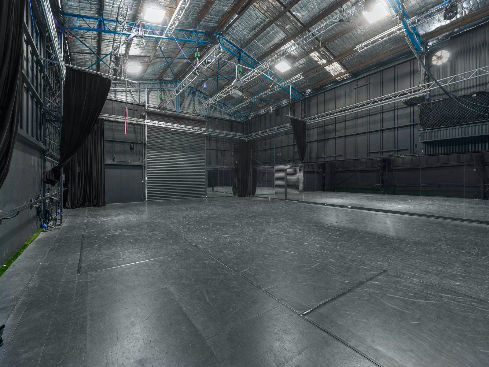 Studio 1, multi-use area at Raw Studios, image 1