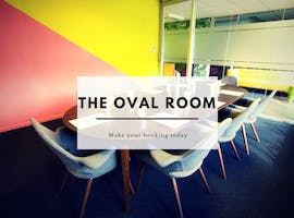 The Oval Room, meeting room at The Office Group, image 1