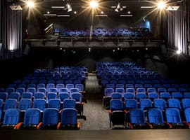 This theatre space has an emphasis on intimacy and comfort, image 1