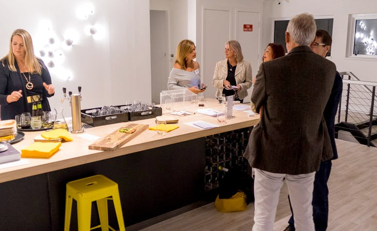 This multi-use area has everything you may need for a stylish event, image 1