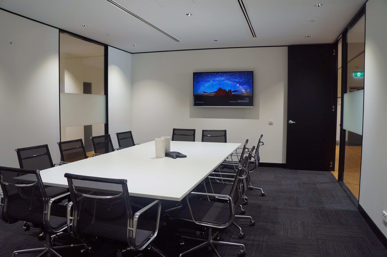 Boardroom, meeting room at @WORKSPACES Brisbane, image 1