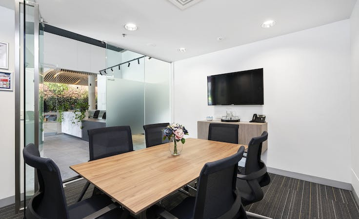 Office 17, Level 19 , private office at 485 La Trobe Street, image 1