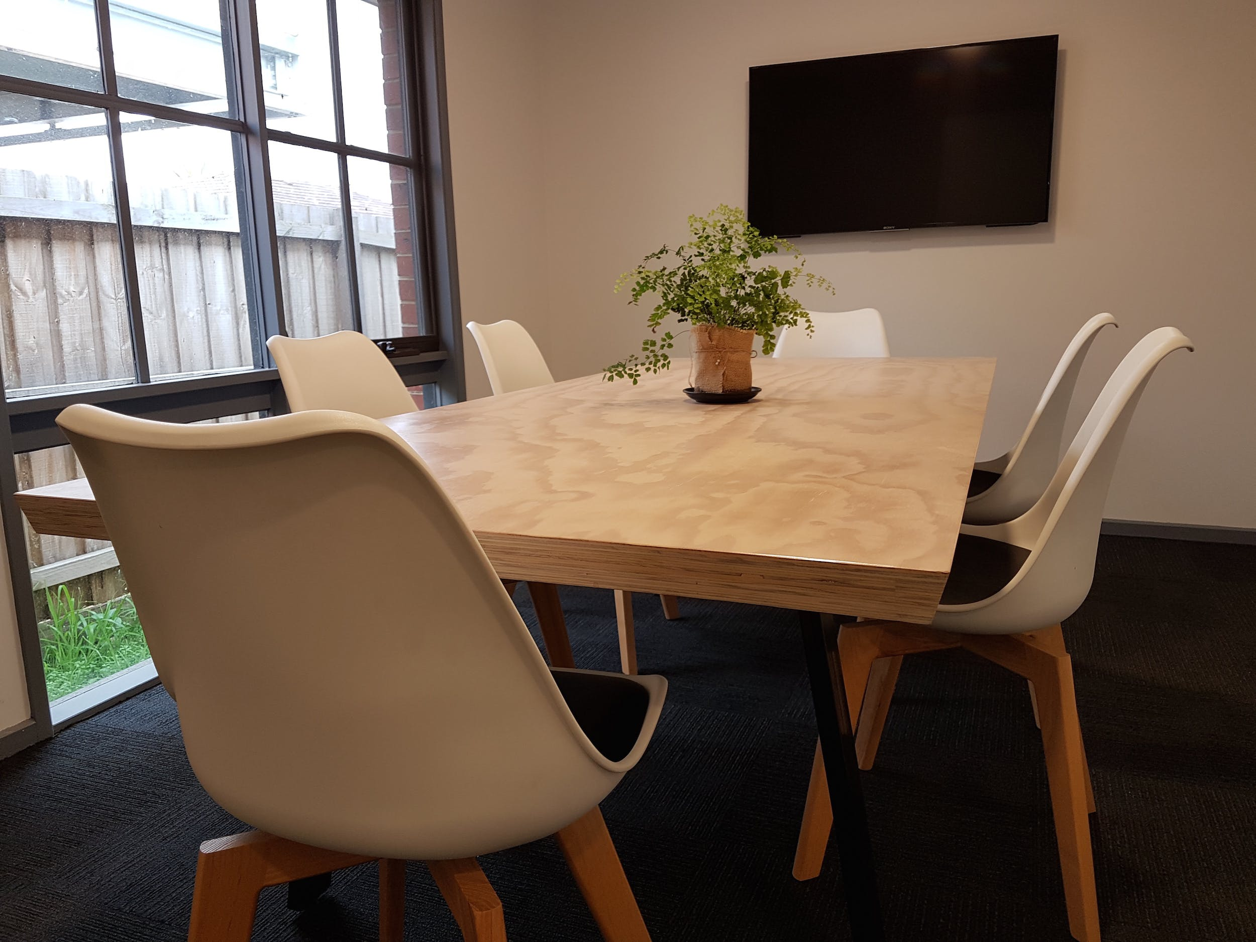 The Boardroom, meeting room at Happy Hubbub, image 1