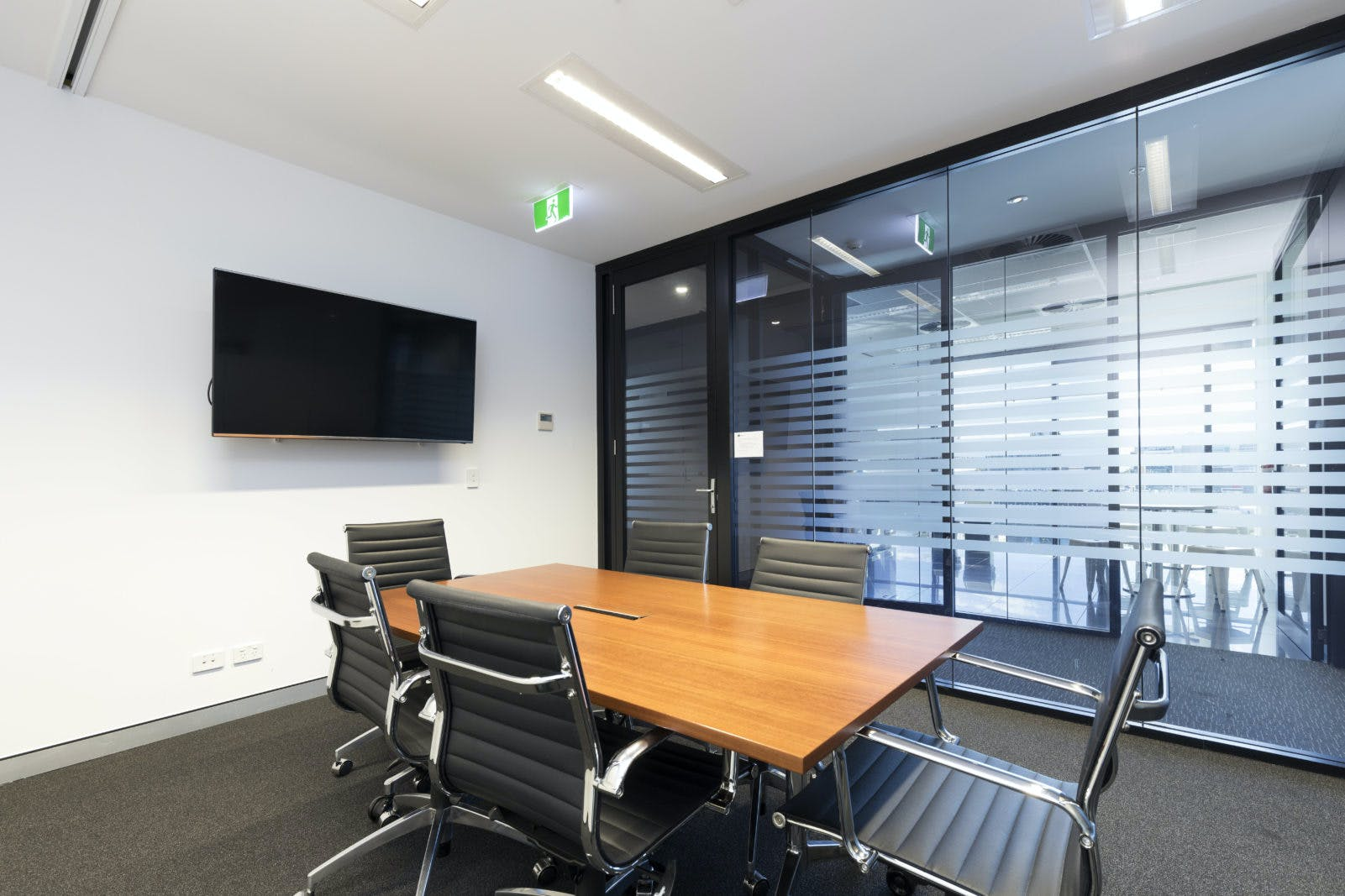 6 person, meeting room at Corporate House Fortitude Valley, image 1