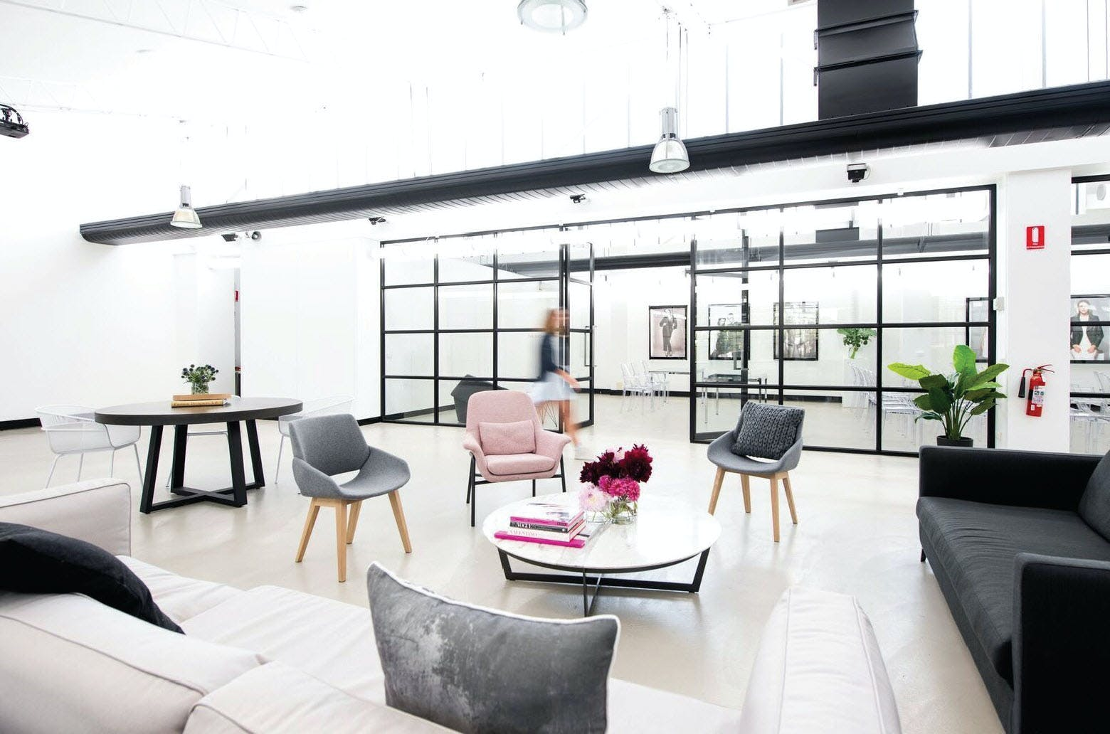 Entire Space (Showroom + Gallery/Co-working Space), multi-use area at Highline, image 1