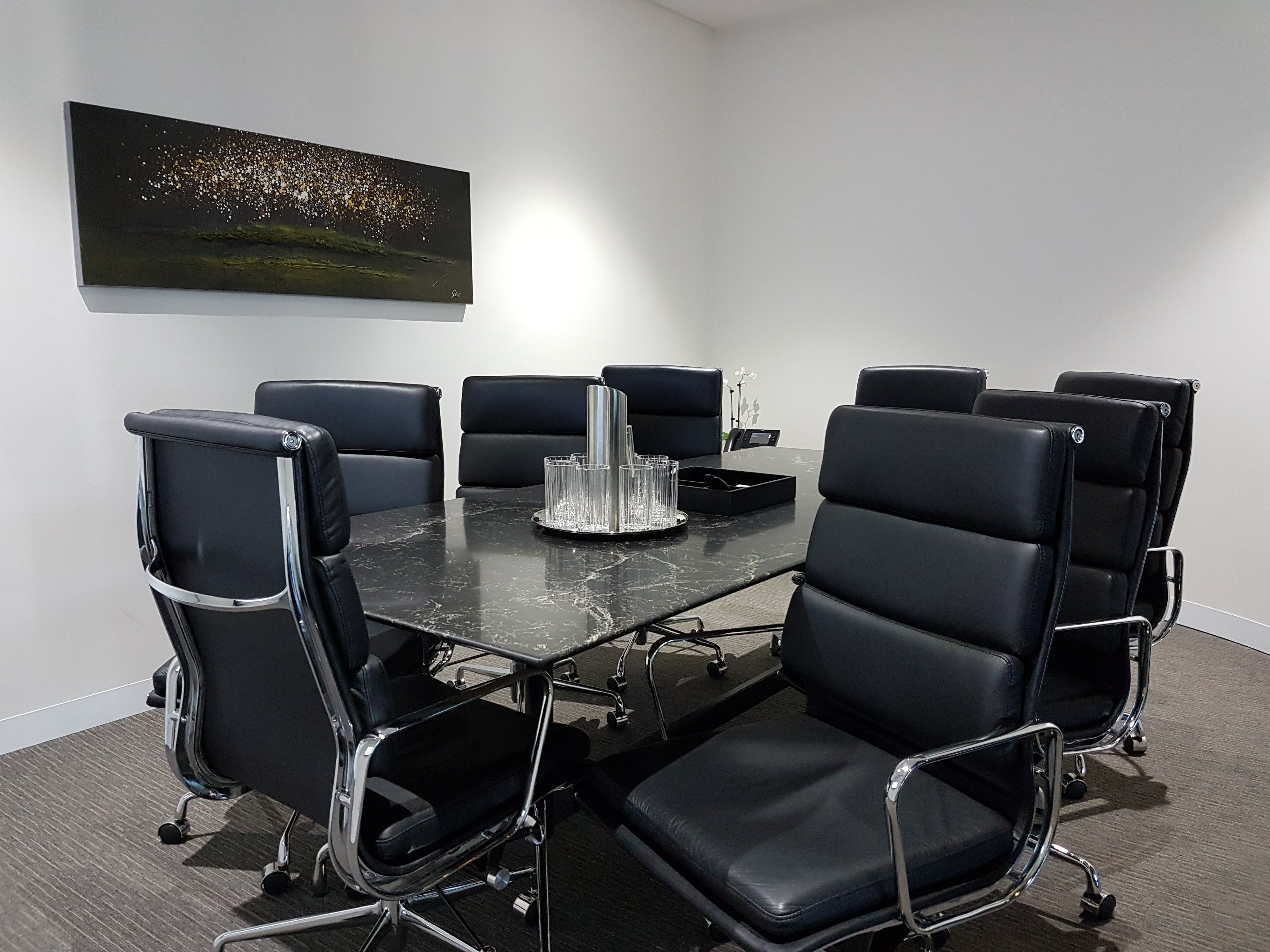 Hades, meeting room at Victory Offices | Collins Place Meeting Rooms, image 1
