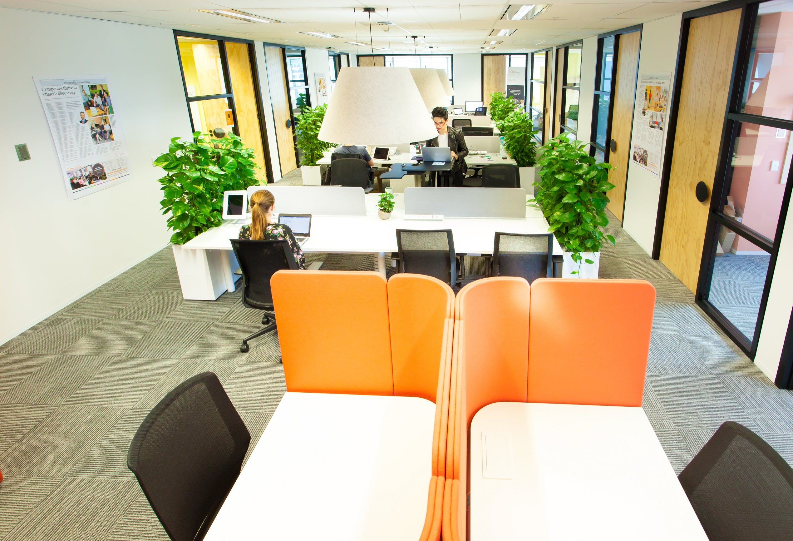 Modern hot desk space in the heart of Melbourne, image 1
