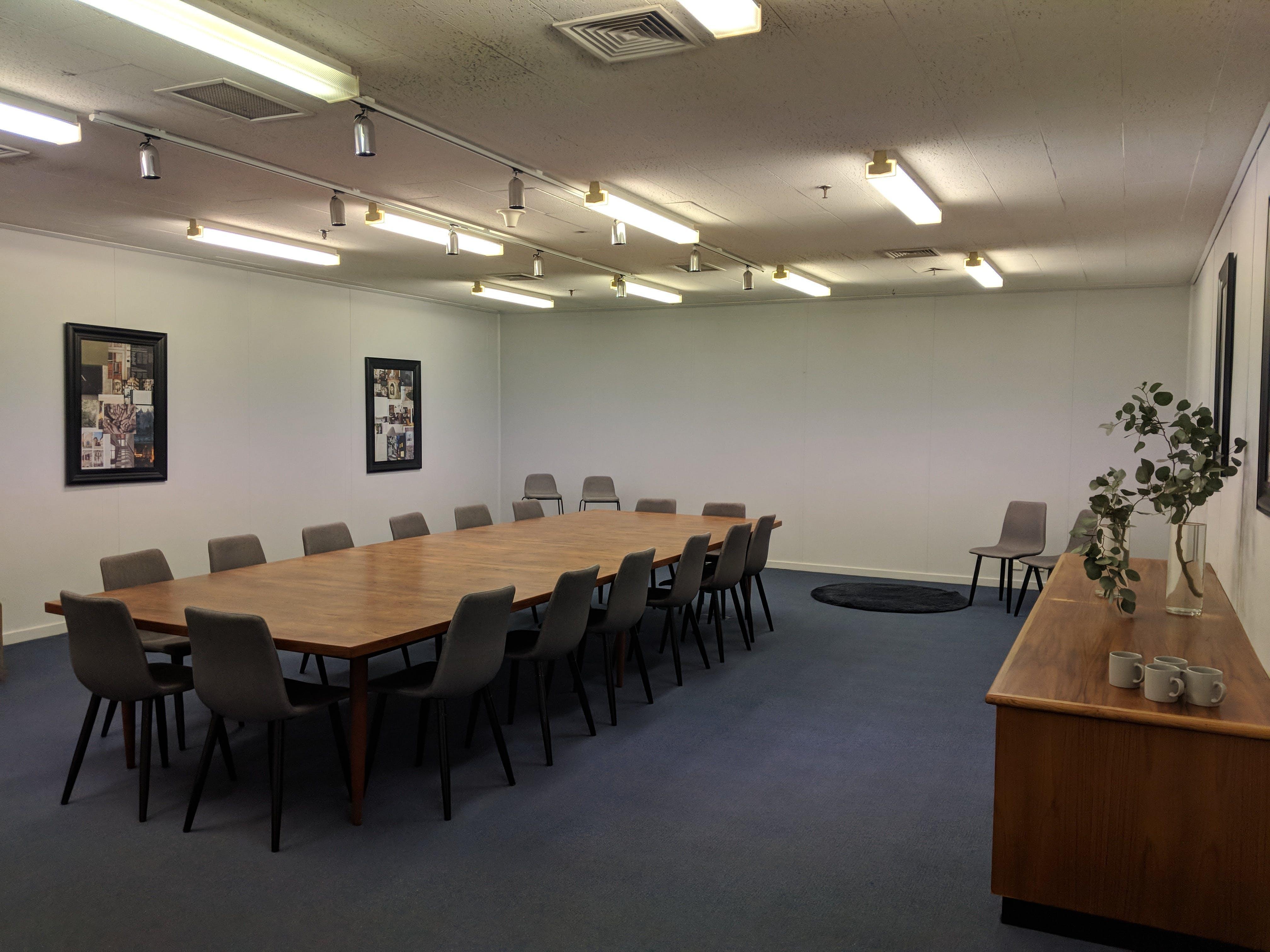 MG Board Room, training room at 140 Dawson, image 1