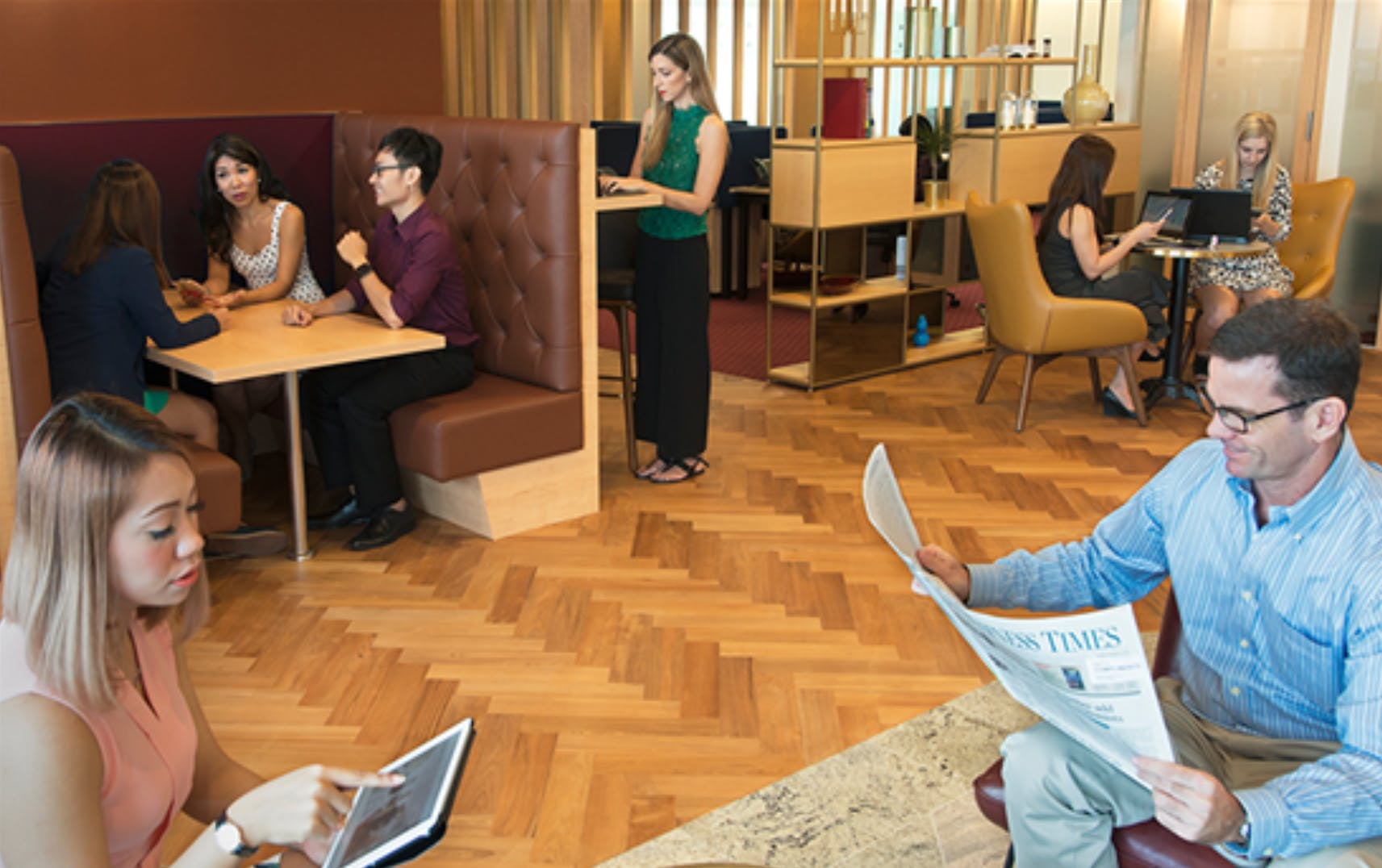 Private Meeting Room for 8, meeting room at The Realm, image 3