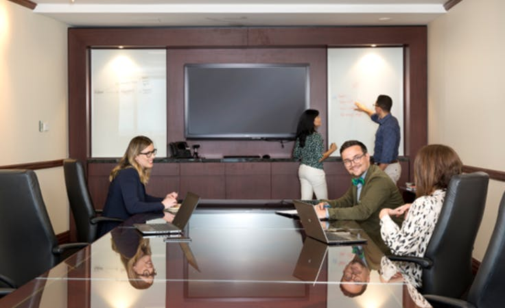 14 person Boardroom, meeting room at Nishi, image 1
