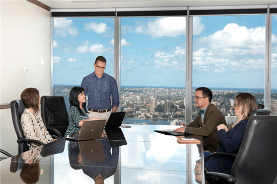 Premium Boardroom with harbour views, meeting room at Chifley Tower, image 1