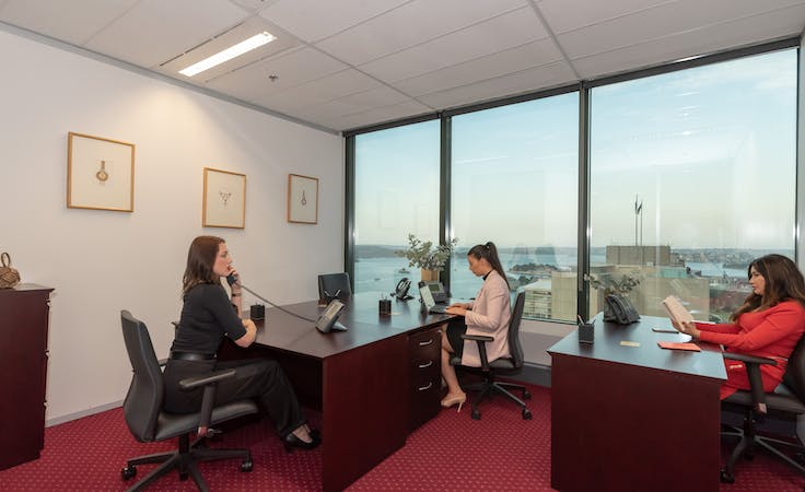 Dining Room - Private Meeting Room with harbour views, meeting room at Chifley Tower, image 6