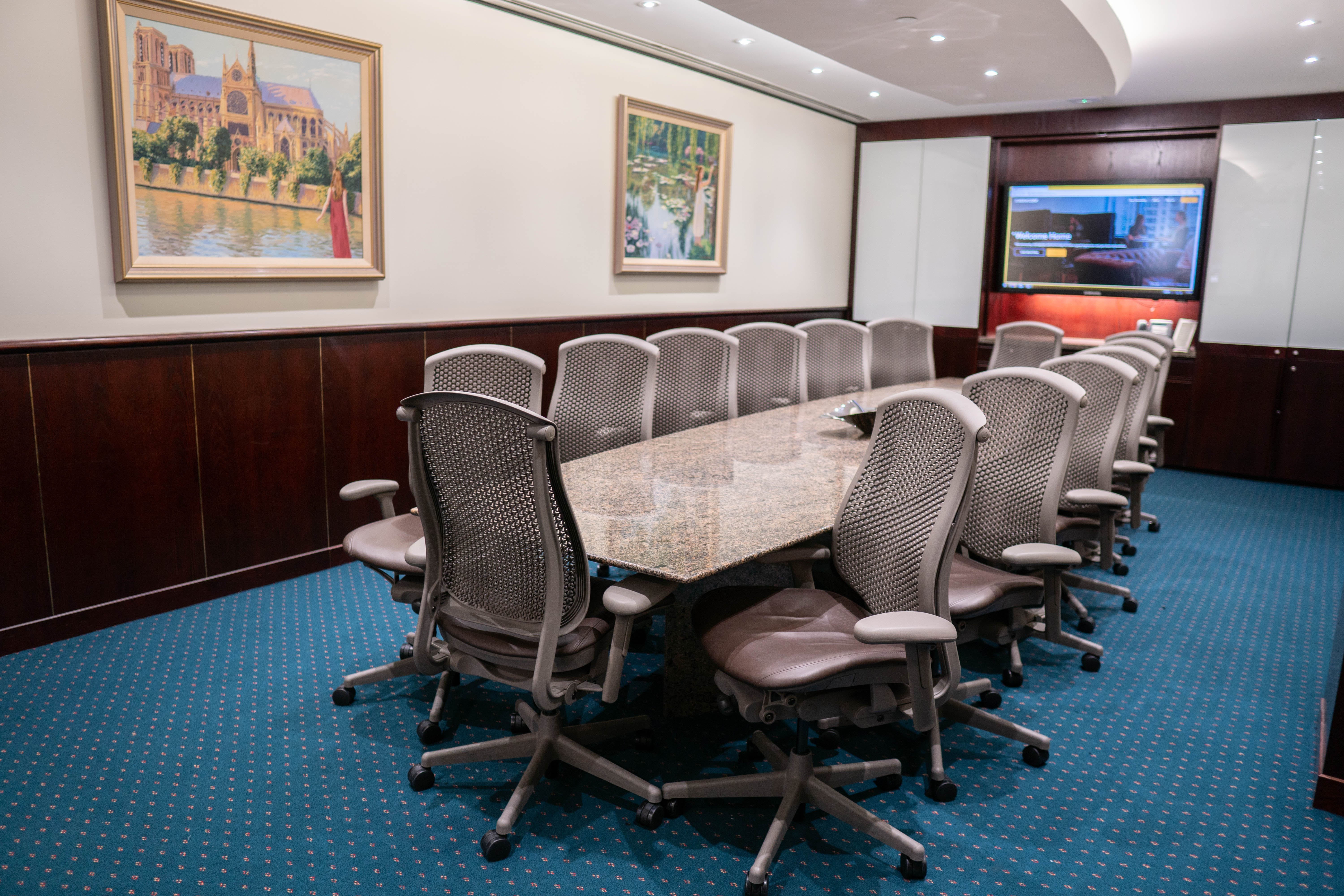 Premium Boardroom for 14 , meeting room at 140 William Street, image 1