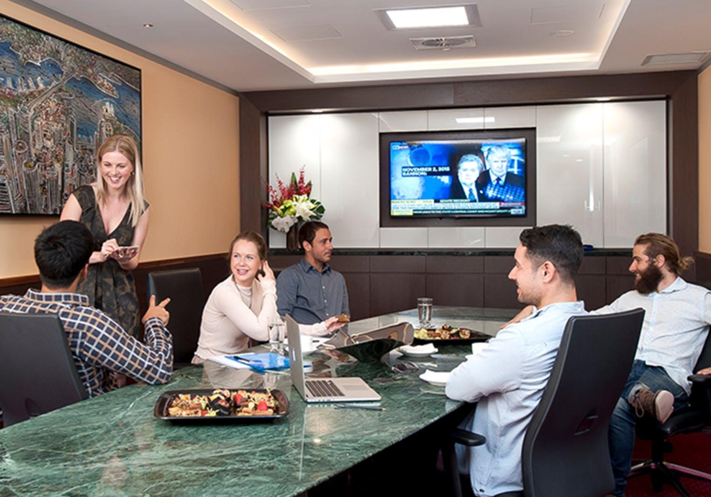 Premium Boardroom for 14 , meeting room at 140 William Street, image 1