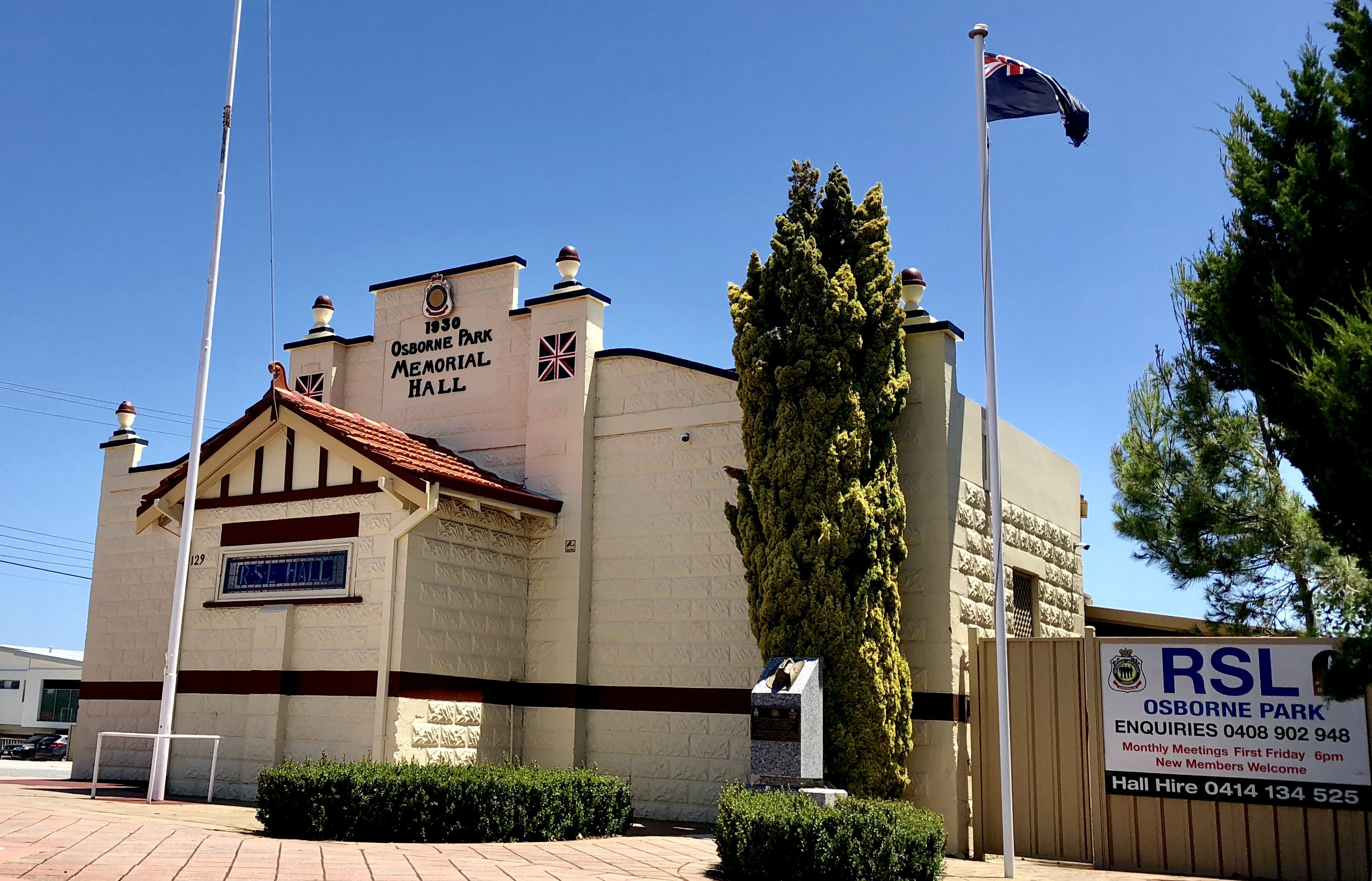 Conference centre at Osborne Park RSL Sub-Branch Memorial Hall, image 1