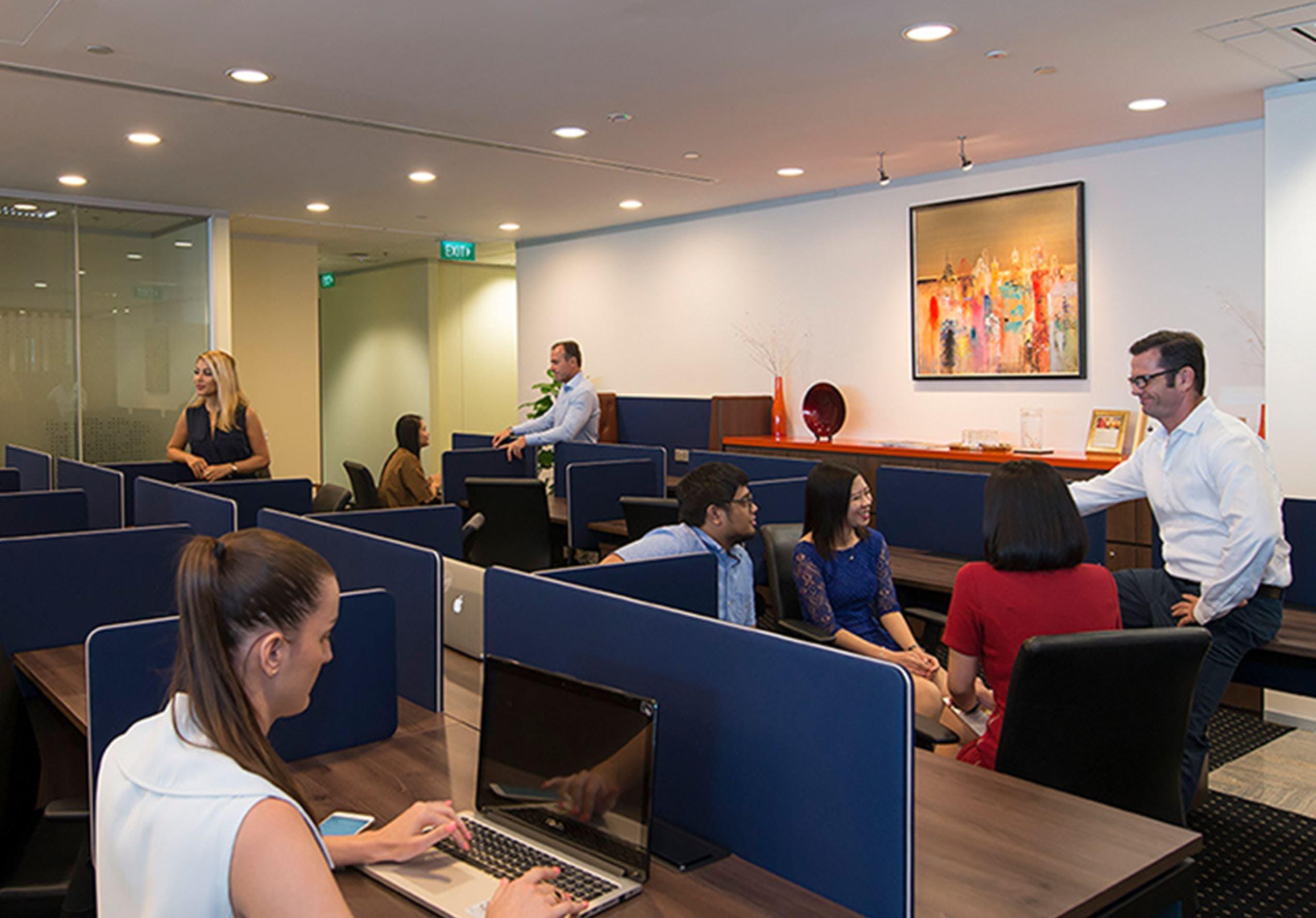 Dedicated desk at Deloitte Building, image 1